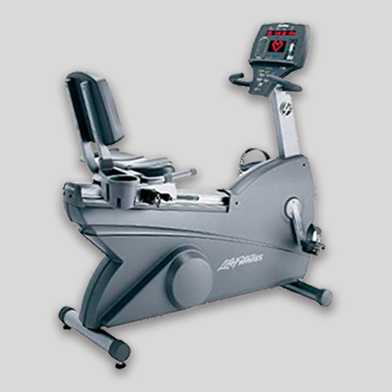 BIKE CARDIO RECUMBENT LIFE FITNESS 95